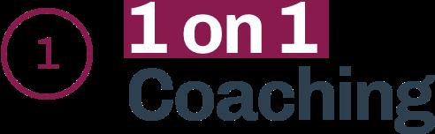 1 on 1 coaching