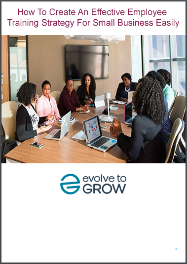 How To Create An Effective Employee Training Strategy For Small Business Easily ebook