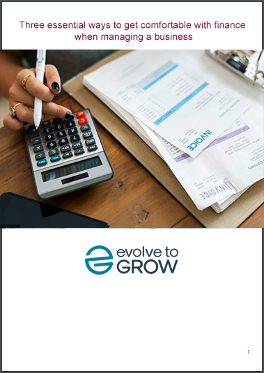 Three essential ways to get comfortable with finance when managing a business ebook