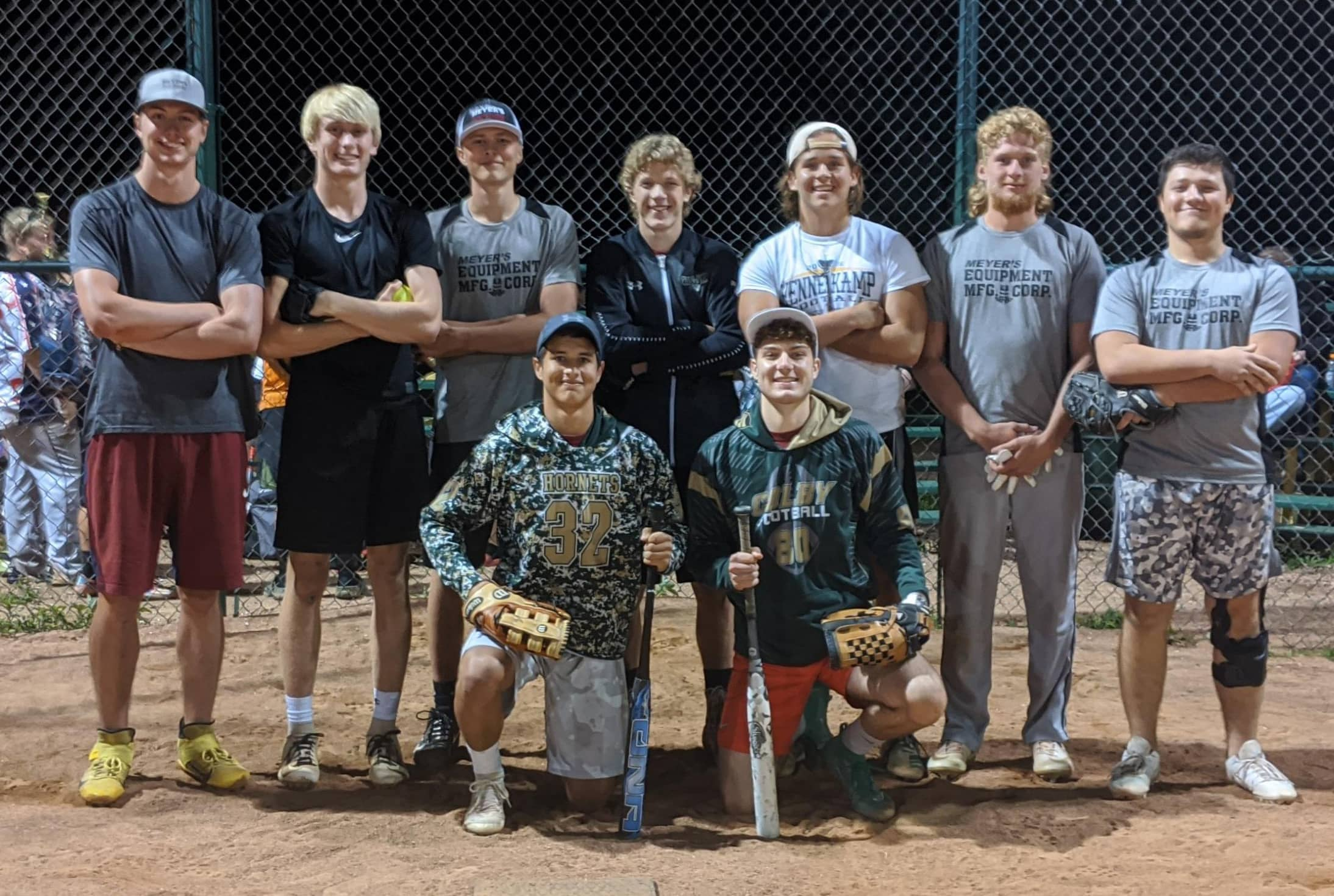 County Cow Truckers from Colby took 3rd in the Atwood League. (Photo by Sara Blume)
