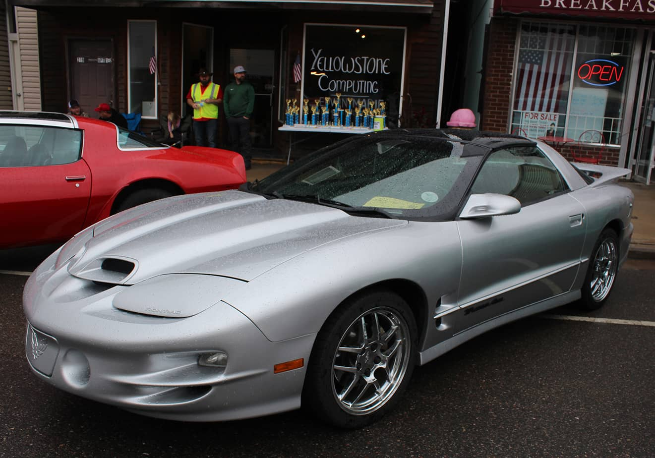 1st in Class was this 2001 Pontiac Trans Am, owner Caleb Rykal. (Photo by Nicole Rogers)