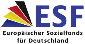 ESF Europäischer Sozialfonds für Deutschland Logo