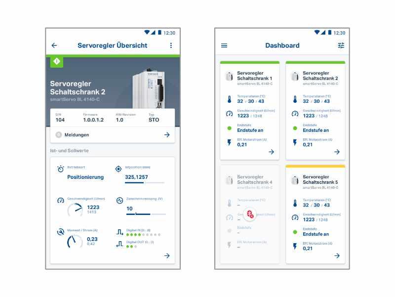 SABO Mobile IT – Apex Metronix – Monitoring und Parametrierung von Servoreglern