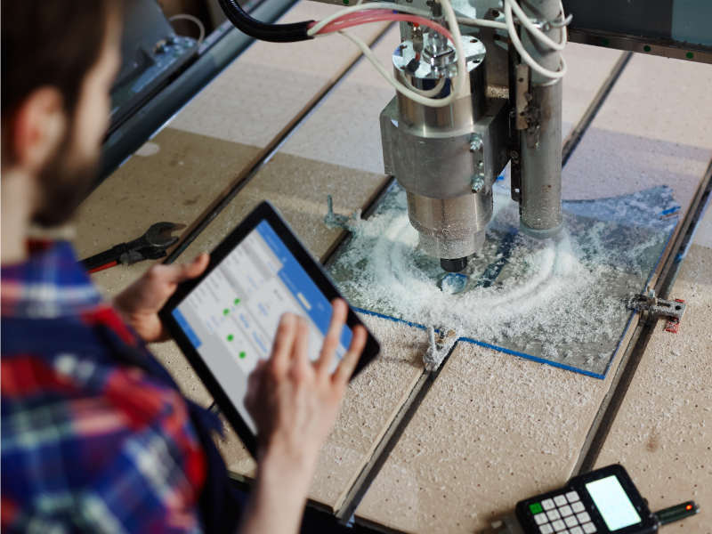 Mobile application for managing SKF lubrication pumps via Wi-Fi