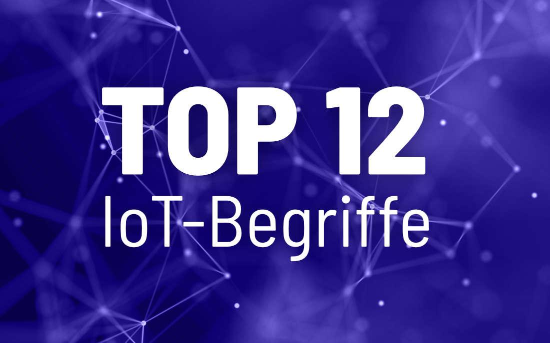 12 IoT-Begriffe, die Sie nicht verpassen sollten
