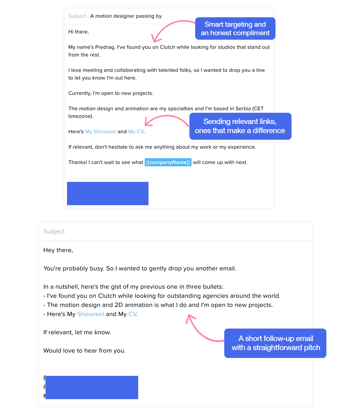 cold email hub by lemlist