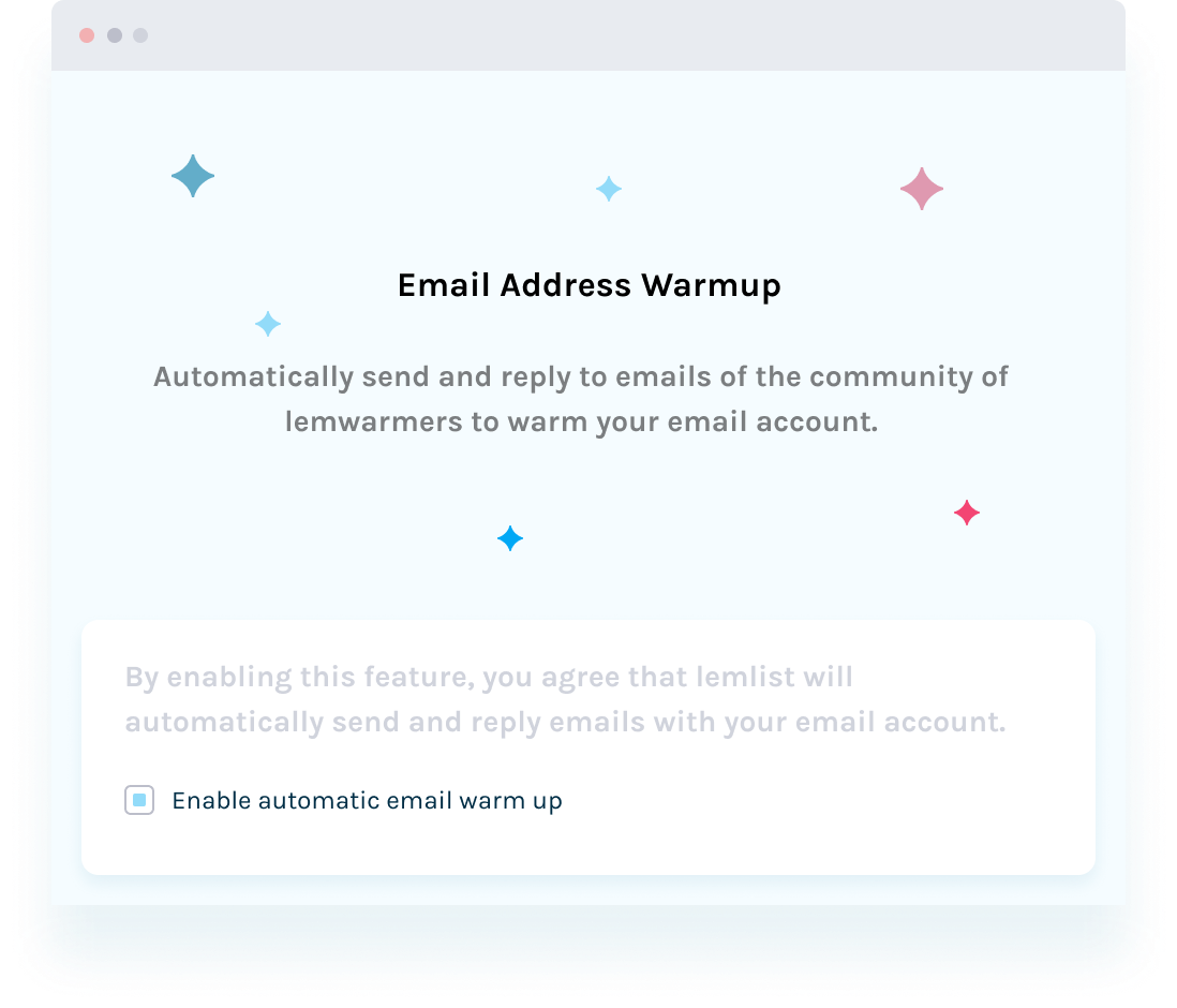 auto email warm-up