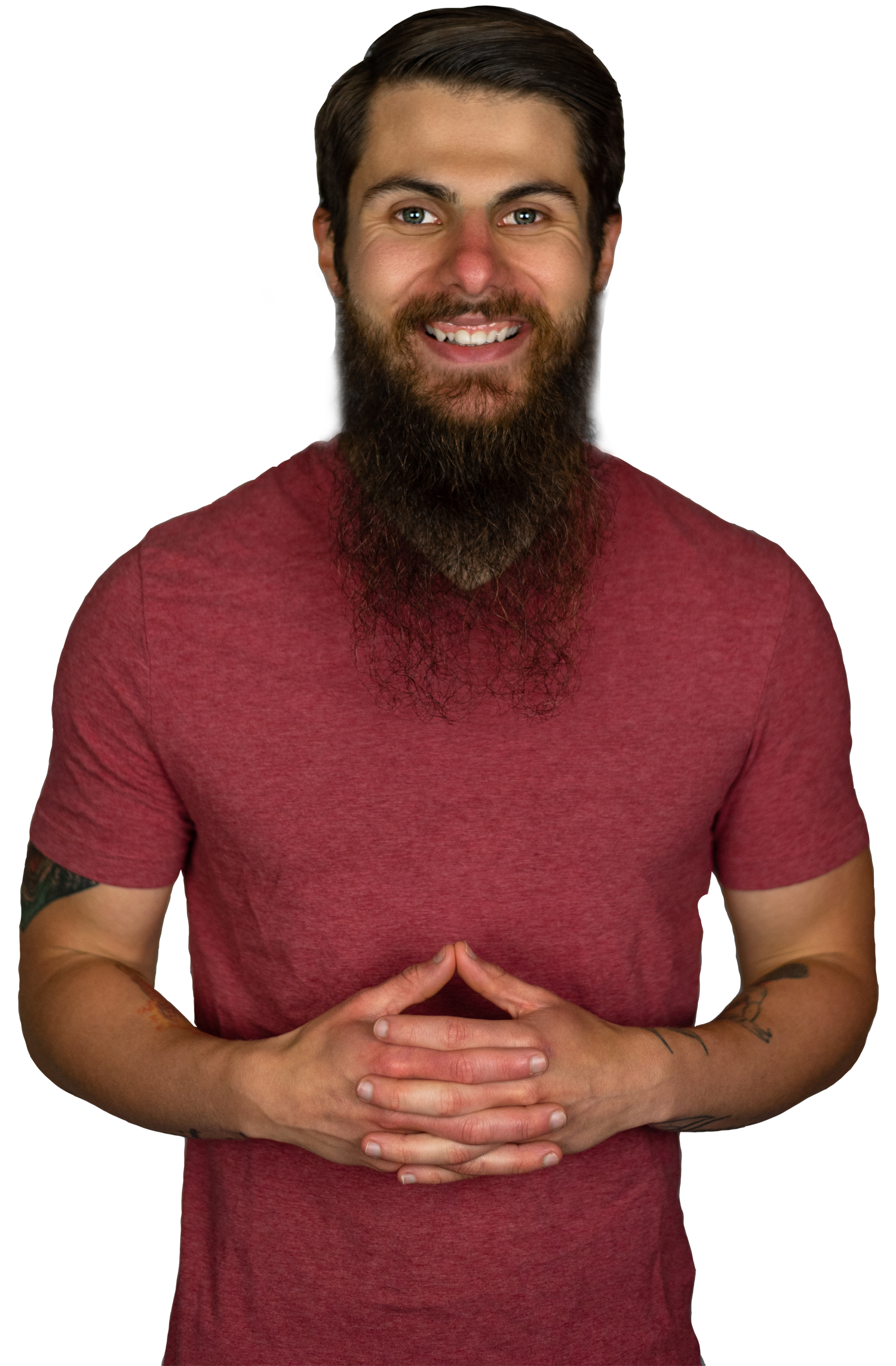Upper body headshot of Evolve host Brandon Stover