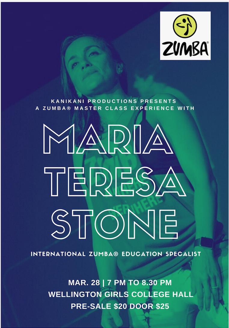 Maria Teresa Stone Master Class Poster