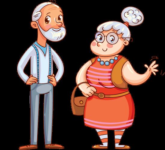 סבא וסבתא עושים שלום