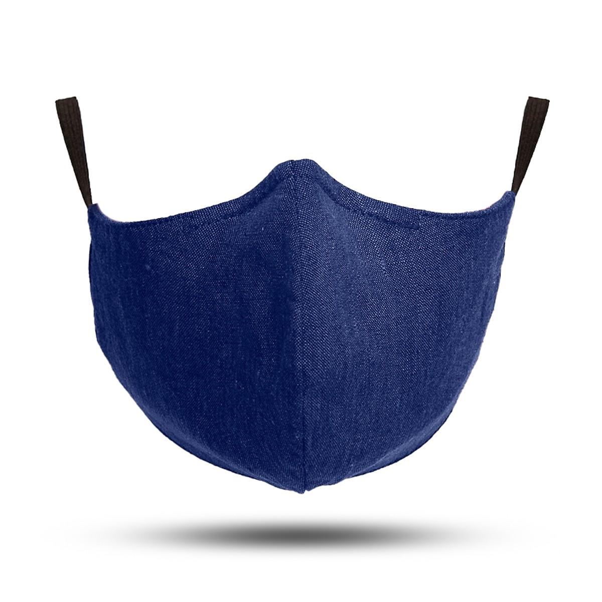 Emblem Weavers Linen Mask
