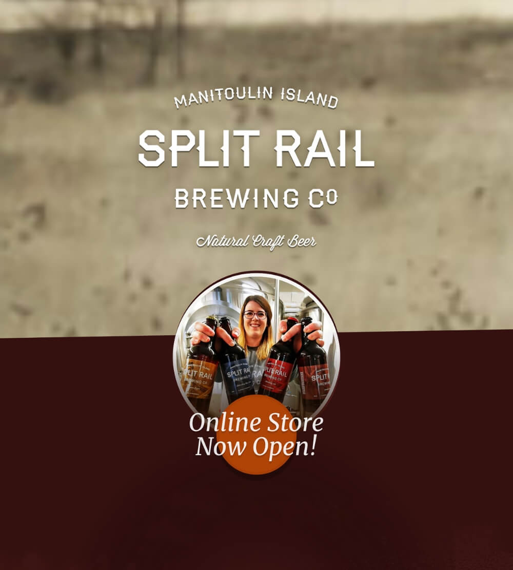 Enjoy natural craft beer from Split Rail Brewing Company.