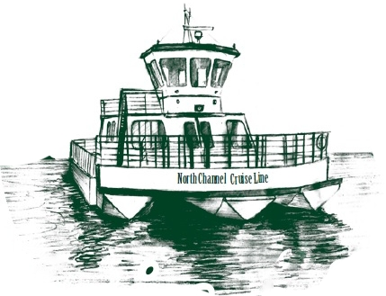 North Channel Cruise Line on Manitoulin Island.