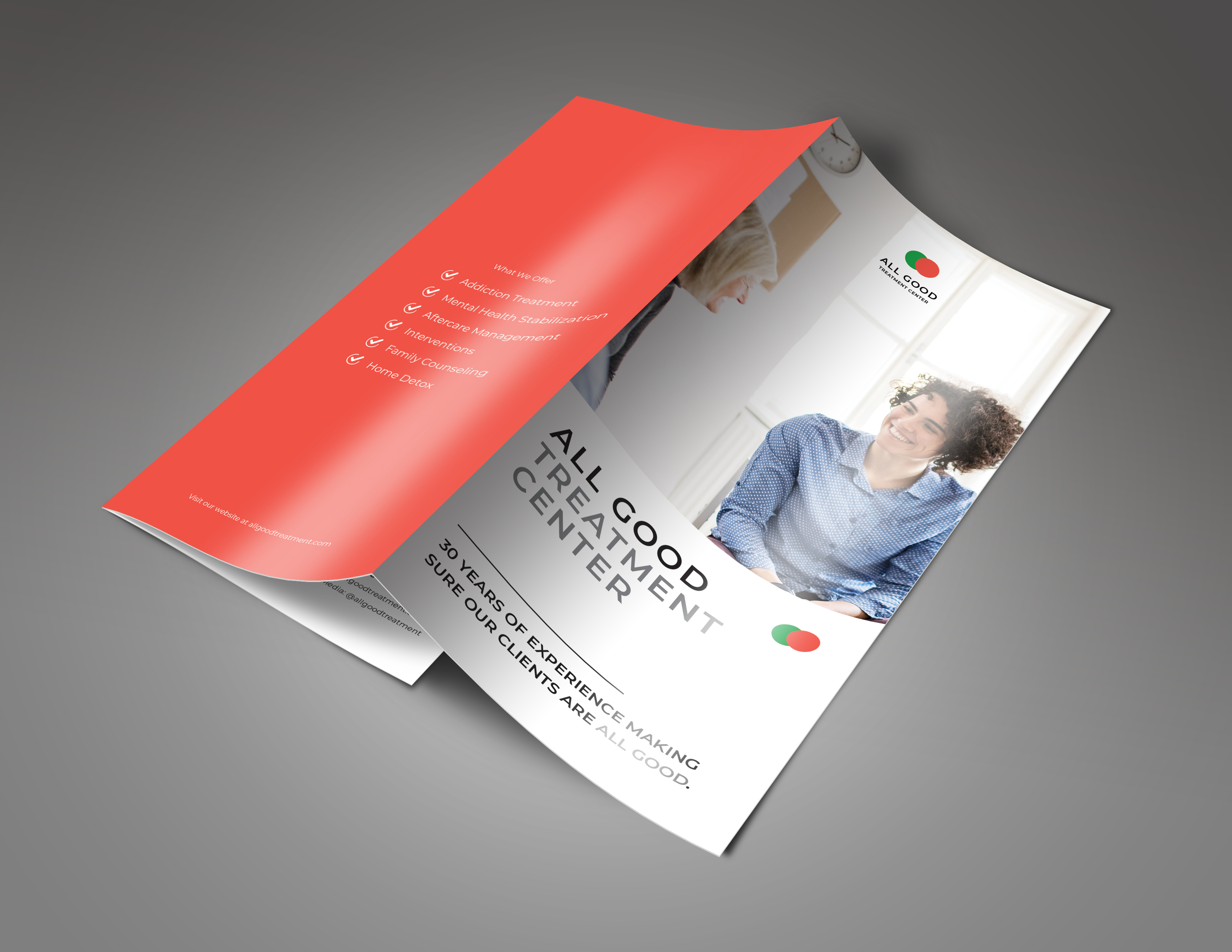 Trifold Brochure for Treatment Centers