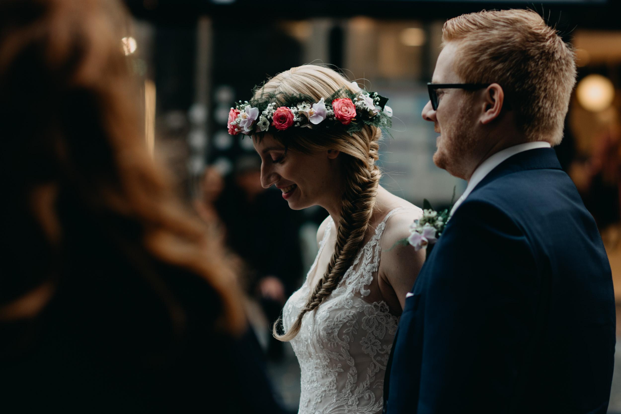 Bloemen kroon - Trouwen Nijmegen - Bruiloft