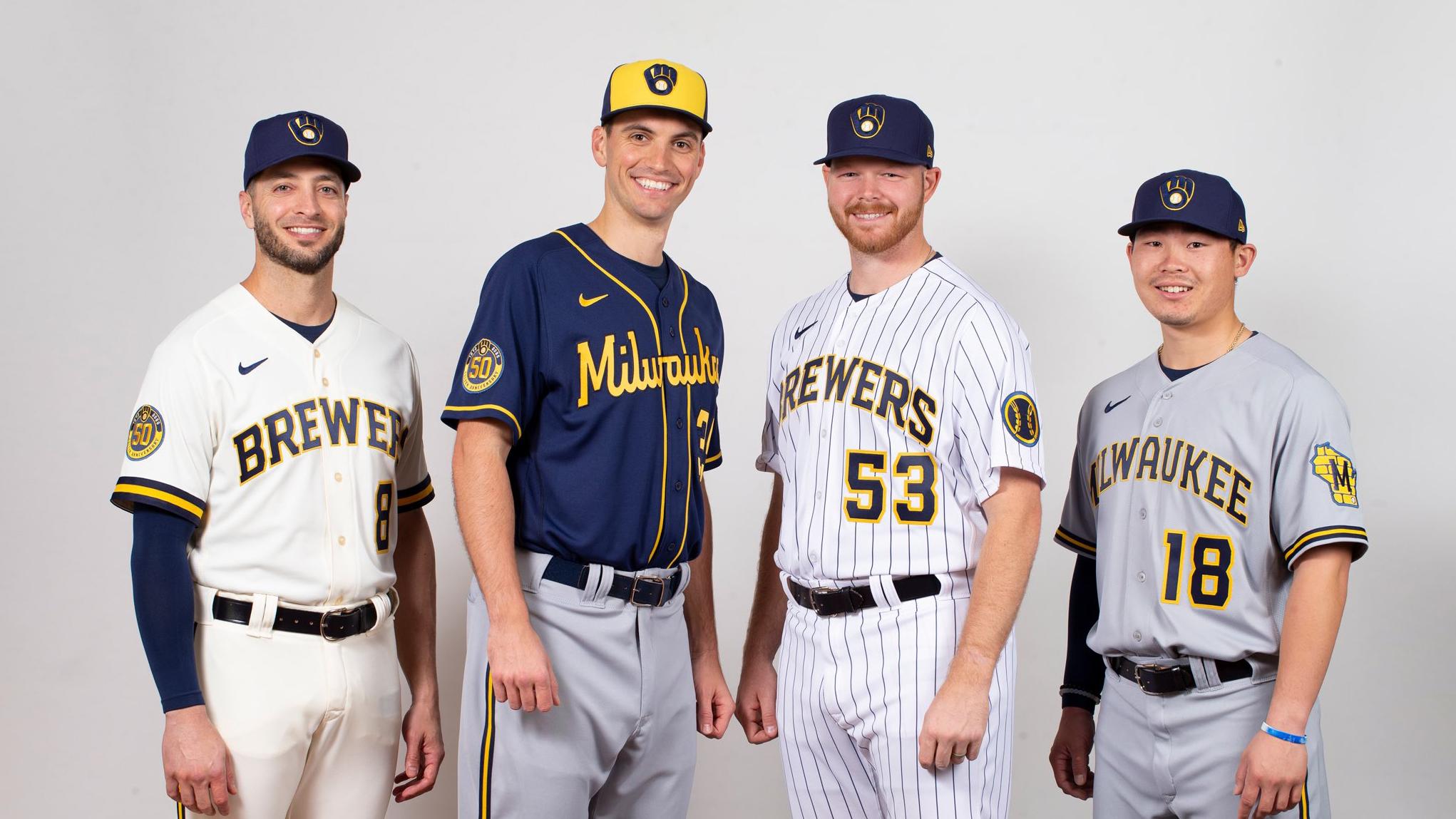 Milwaukee Brewers Team Photo