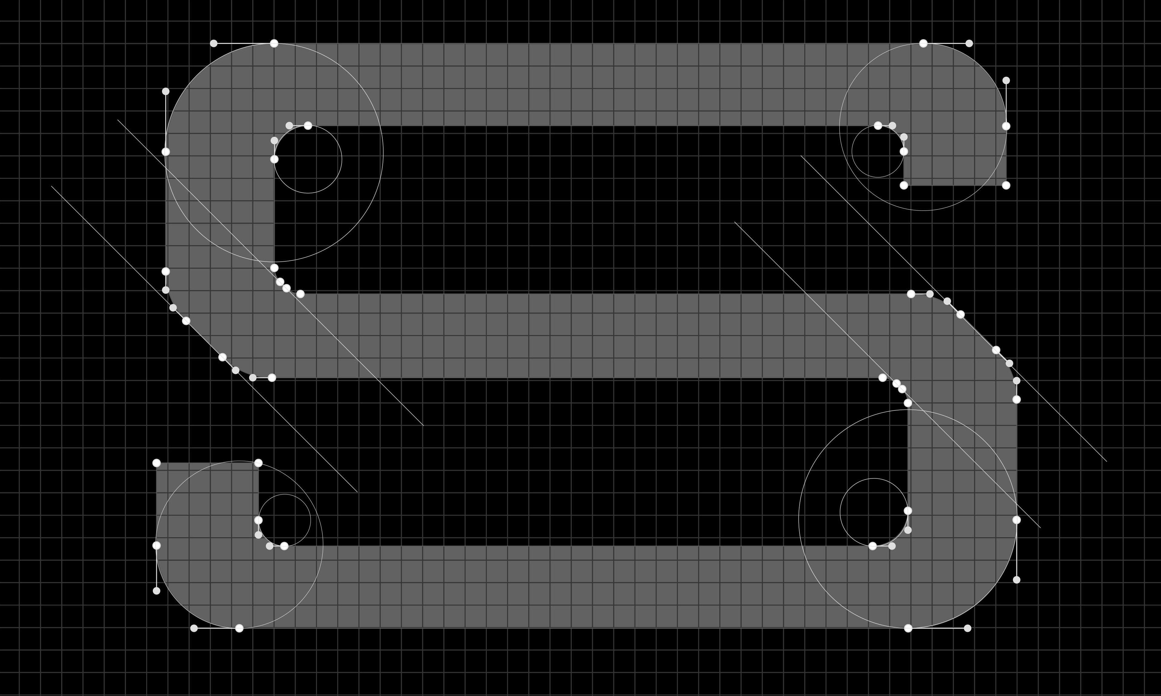 Logo grid design for Spencer Badu branding