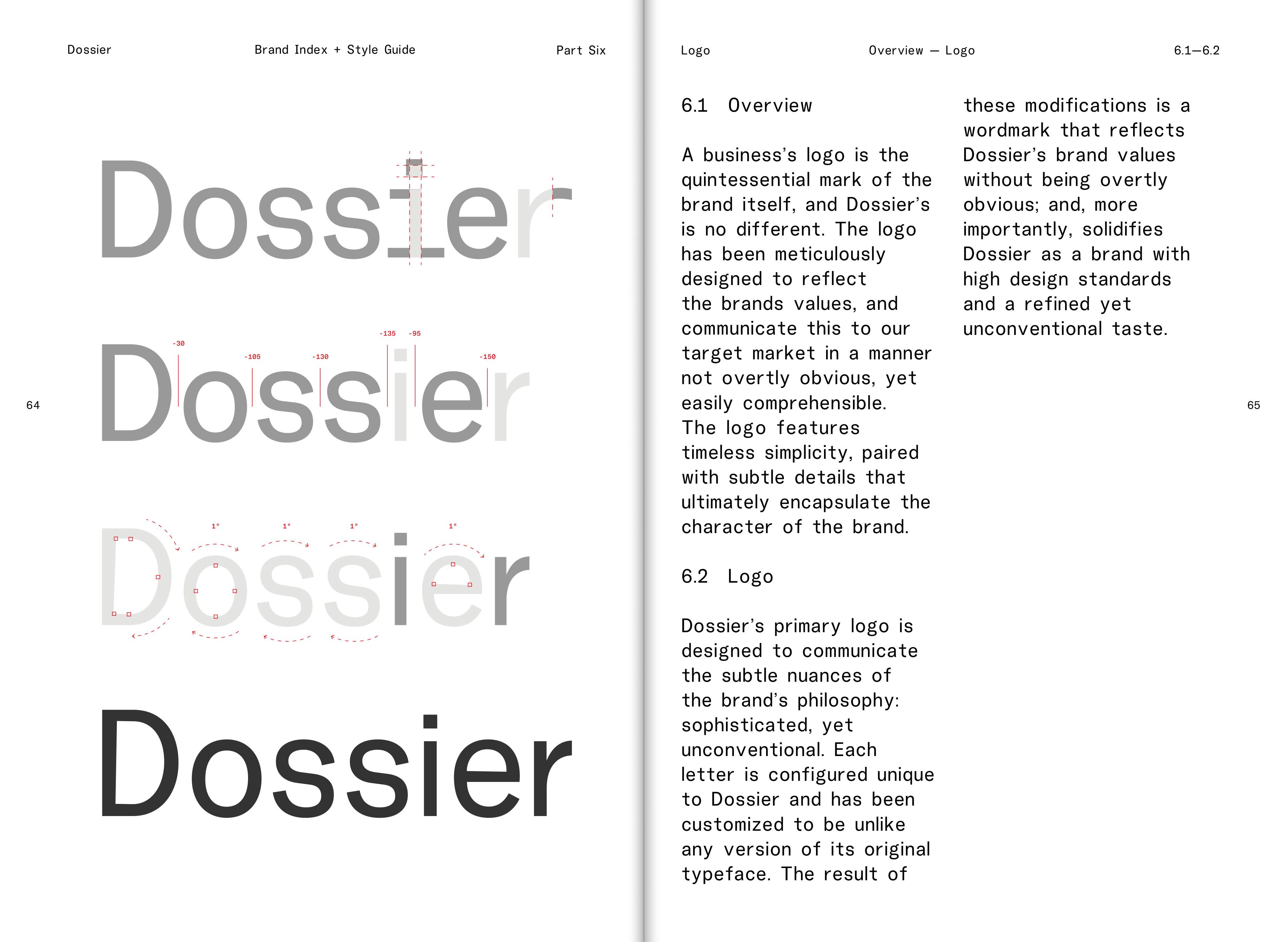 Dossier Brand Book