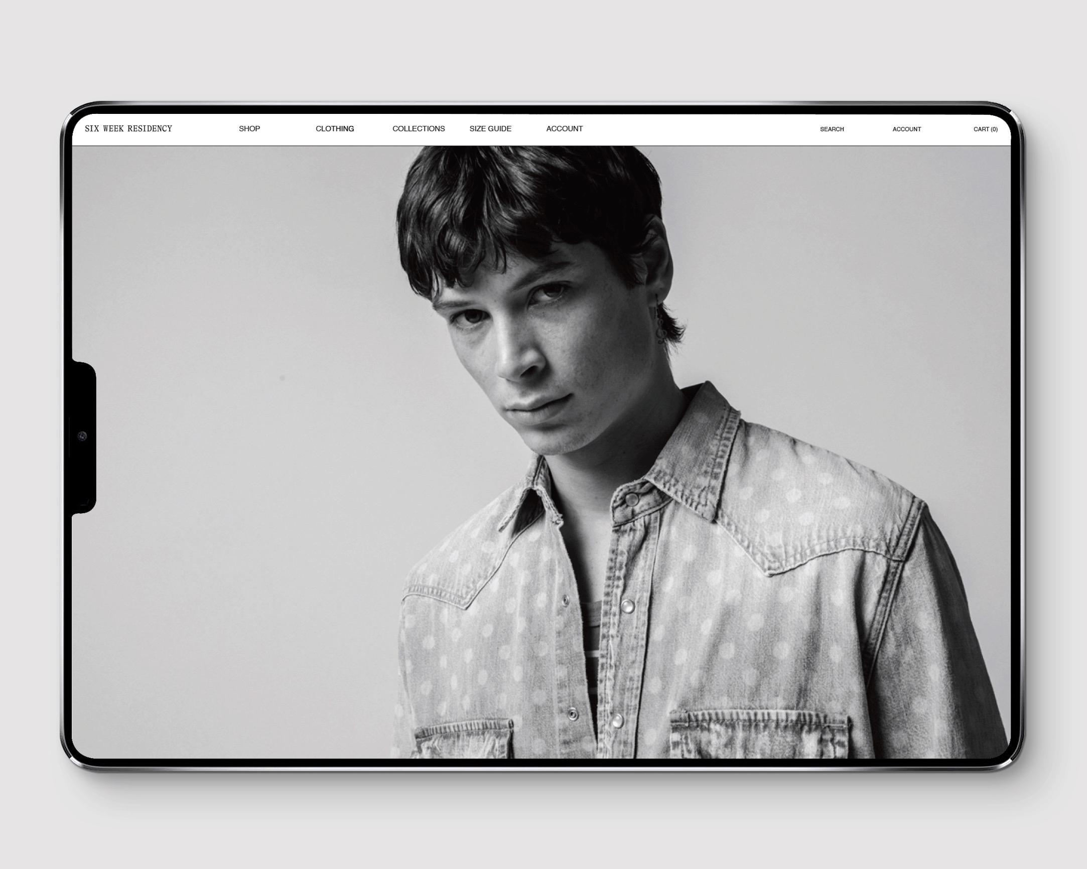 Six Week Residency Web Design on Shopify Platform