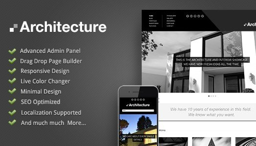 Architecture – WordPress Theme