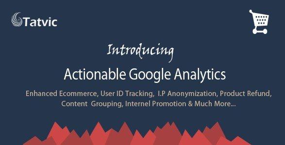 Actionable Google Analytics for WooCommerce