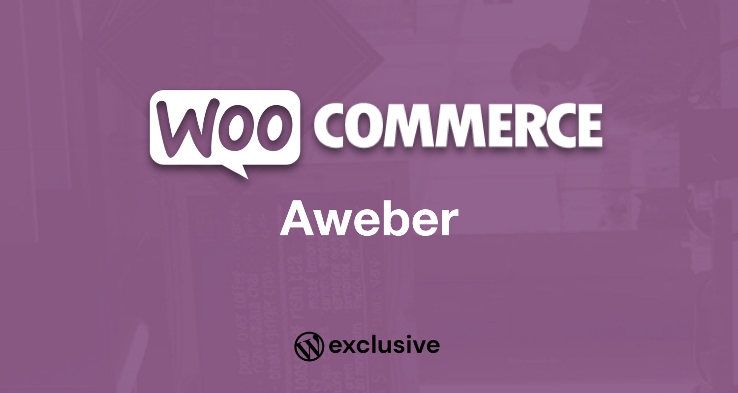 WooCommerce Aweber Newsletter Subscription