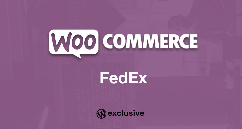 WooCommerce FedEx Shipping Method