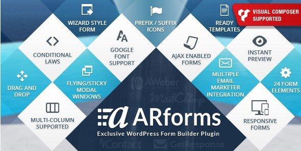 ARForms – WordPress Form Builder Plugin