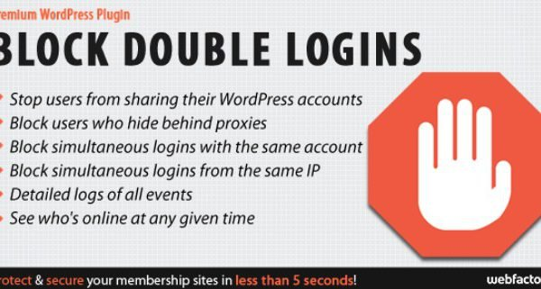 Block Double Logins Protect Your Membership Site