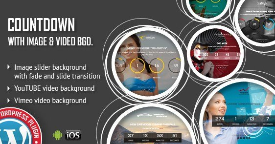 Download CountDown With Image or Video Background WordPress Plugin