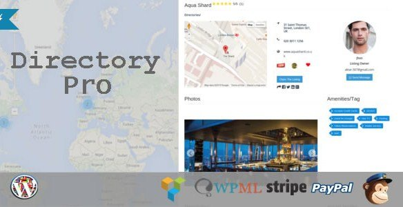 Directory Pro Wordpress Plugin