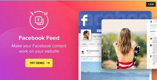 WordPress Facebook Plugin – Facebook Feed Widget