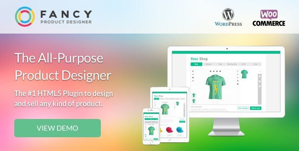 Fancy Product Designer – WooCommerce WordPress