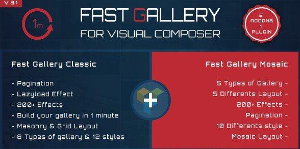 Fast Gallery Premium Wordpress Plugin