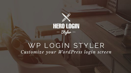 Hero Login Styler WP Login Screen Customizer