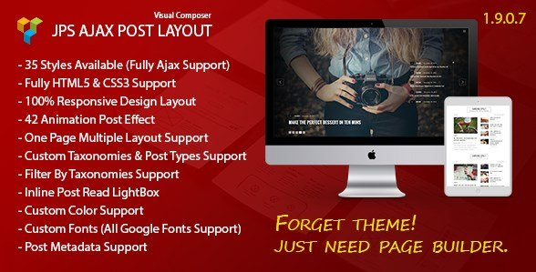 JPS Ajax Post Layout – Addon For Visual Composer