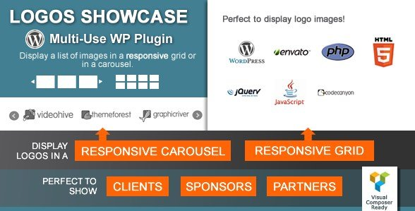 Logos Showcase – Multi-Use Responsive WP Plugin
