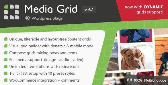 Media Grid Wordpress Responsive Portfolio Plugin