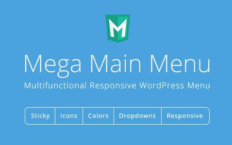 Mega Main Menu – WordPress Menu Plugin