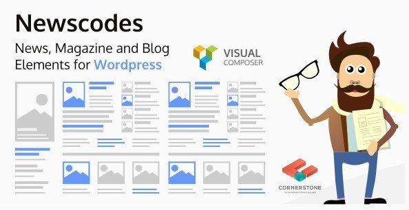 Newscodes – News, Magazine and Blog Elements for WordPress