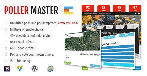 Poller Master – Ultimate WP Polling System
