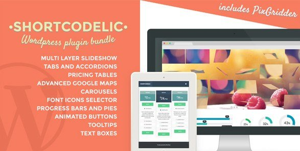 Shortcodelic – WordPress Plugin Bundle
