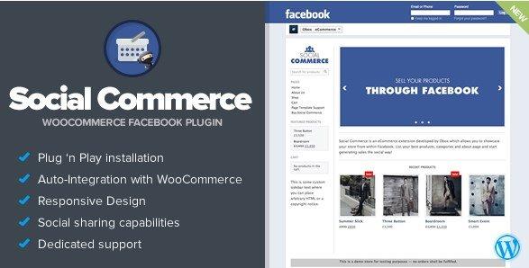 Social Commerce – WooCommerce Facebook Tab