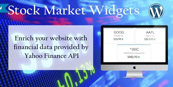 Stock Market Widgets for WordPress