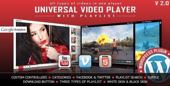 Universal Video Player – WordPress Plugin