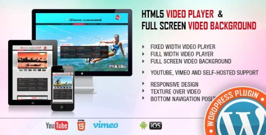 Video Player & FullScreen Video Background