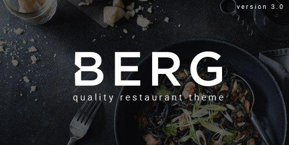 BERG – Restaurant WordPress Theme Features