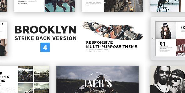 Brooklyn – Responsive Multi-Purpose WordPress Theme