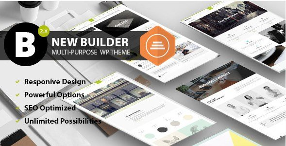 BUILDER – Responsive Multi-Purpose Theme