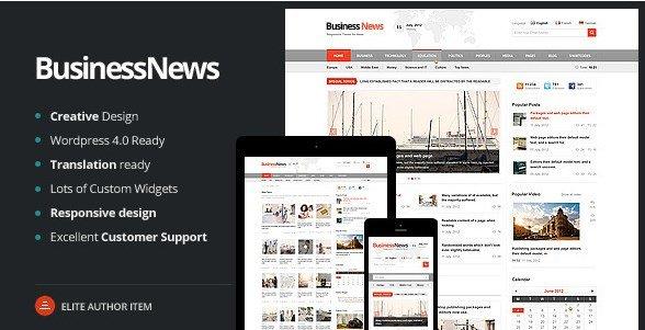 Business News – Responsive Magazine News Blog